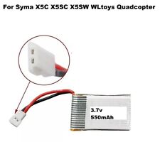 UK X5C-3.7V 550mAh not 500mAh Battery for Syma X5 X5A X5C RC DRONE Quadcopter
