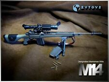 "M14 Automatic Sniper Rifle ABS Weapon Model 1/6 Scale ZY Toy F 12"" Action Figure"