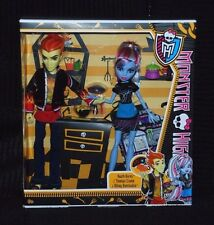 Monster High Home Ick Class 2 Doll Pack inc Heath Burns & Abbey Bominable BNIB