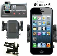Car Air Vent Mount Holder Kit For Apple iPhone SE 5S 5 4S 4 iPod Touch 6 5 4 Gen