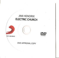 "JIMI HENDRIX ""Electric Church"" Advance Promo DVD RAR"