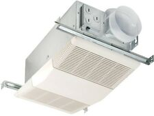 Heat-A-Vent 70 CFM Ceiling Exhaust Bath Fan W/ 1300-Watt Heater Home Bathroom
