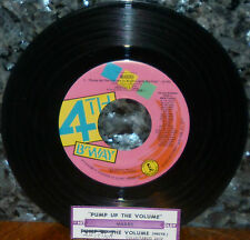 "* * SALE! M/A/R/R/S 1987 DANCE HIT ""PUMP UP THE VOLUME"" with JUKEBOX TITLE STRIP"