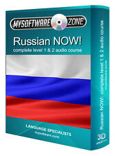 LISTEN & LEARN TO SPEAK RUSSIAN RUSSIA LANGUAGE FAST TRAINING COURSE MP3 CD NEW