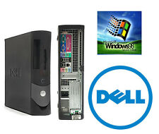 Dell OptiPlex GX270 2.8GHZ Windows 98SE/DOS Gaming Desktop Industrial Computer