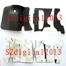 3 PCS NEW Digital Camera Body Rubber Shell For Canon EOS 60D Repair Parts + Tape