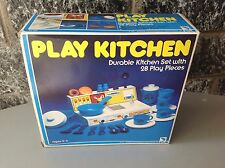 1981#Vintage PLAY KITCHEN JUMBOS NIB like fisher price rare