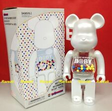 Be@rbrick My First Baby 15th Anniversary 400% Pearl White B@by MCT Bearbrick