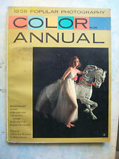 PHOTOGRAPHY COLOR ANNUAL 1959=ANNUARIO 170 PAGINE = LINGUA ORIGINALE =OTTIMA !!!