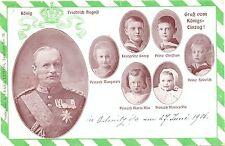 König Friedrich August v. Sachsen mit Prinzen, 1906