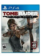 NEW Tomb Raider: Definitive Version  (Sony PlayStation 4, 2014) PS4