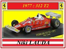 1/43 - FERRARI 312T2 - Niki LAUDA - World Champion 1977 - Die-cast