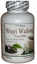 WUYI Wulong Oolong Wu-Yi Fujian CHINESE Weight Loss Diet Detox 120 TEA PILL Caps