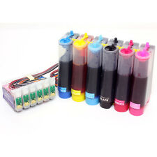 Continuous Ink Supply System Compatible with Epson Photo R280 R380 RX580 T078