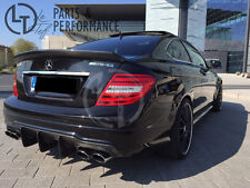 In puro carbonio DTM Diffusore per MERCEDES-BENZ c63 AMG facelift BERLINA COUPE w204