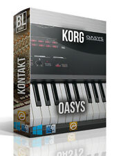 KORG OASYS LIBRARY LOGIC PRO KONTAKT MPC WAV SAMPLES MAC PC