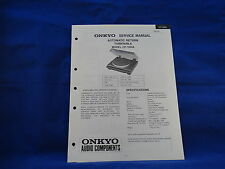 Onkyo CP-1200A Turntable Service Manual