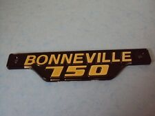 TRIUMPH BONNEVILLE 750  T140E SIDE PANEL BADGE 83-7317 GOLD