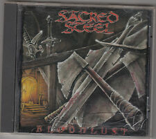 SACRED STEEL - bloodlust CD