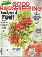 Good Housekeeping June 2015 Backyard Fun/Clean Anything/Easy Salads/Juicy Burger