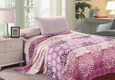Extra Soft & Comfy Micro Plush Blanket - Lilac Pink - Size Full-NEW - SHIPS FREE