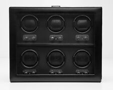 WOLF DESIGN 2.1 Heritage 6 Piece Six Watch Winder with Cover Storage Case 270702