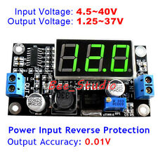 DC-DC LM2596 Buck Step-down Power 3A Converter Module 3V 5V 9V 12V LED Voltmeter