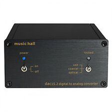 Music Hall DAC 15.2 24-bit/192kHz USB DAC AUTHORIZED-DEALER $300 list !