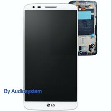 GLS: DISPLAY+ TOUCH SCREEN+ FRAME ORIGINALE per LG OPTIMUS G2 D802 COVER BIANCO