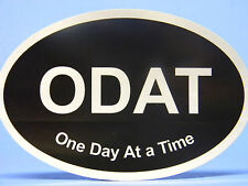 RECOVERY STICKER - ONE DAY AT A TIME - SOBRIETY