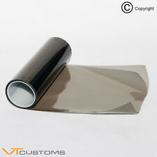 [30 x 60cm] Medium Smoke Headlight Tint Film Fog Tail Light - Gloss Finish