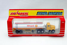 Majorette 3040 Camion Road Boss II White Citerne Shell serie 3000 Neuf/B.  (#B2)