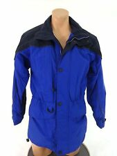 NORTH END MENS BLUE & BLACK ZIP UP CASUAL JACKET SIZE X-SMALL