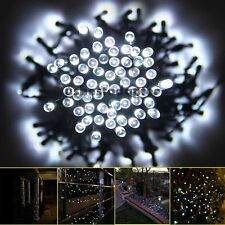 39ft 100LED Solar Power String Fairy Light for Outdoor Wedding Party Garden Tree