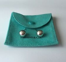 Authentic Tiffany & Co Sterling Silver 10MM Bead Ball Stud Earrings