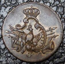 1772 PRUSSIA - Louis D'or Passir Gewicht-Brass Coin Weight - Trace Lustre - RARE