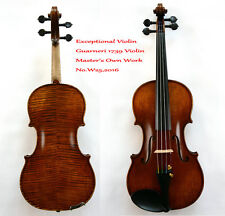 Surprisingly Exceptional Violin Master Wang's Best Violin No.W25 200-yOld Spruce