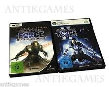 Star Wars The Force Unleashed Sith Edition 1 & 2 I II = oro in DVDbox tedesco