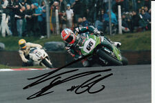 Tom Sykes Hand Signed Stobart Vent-Axia Honda 6x4 Photo BSB.
