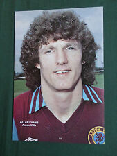 ALAN EVANS - ASTON VILLA  - 1 PAGE PICTURE - CLIPPING /CUTTING