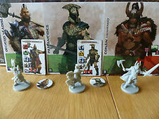 Conan the Board Game Kickstarter - Olgerd, Pallantides, & Mercenary Conan!