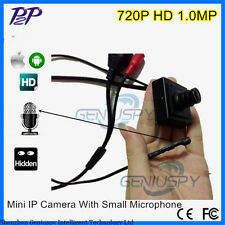 Network 720P Mini IP Audio Video Camera Home Security Micro IP Camera Microphone