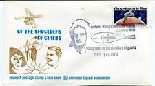 1978 Shoulders Giants Midwest Postage Stamp Corn Show Mission Mars NASA USA