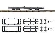 BUSCH 12295 Wagen-Set zum Umbauen H0f #NEU in OVP#