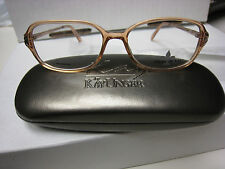 FLEUR DE LIS Eyeglass Frames  Style TOURS  in BROWN  54-15-130 With free case