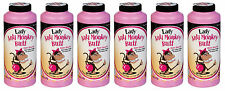 6PACK: LADIES Anti Monkey-Butt Powder (6oz bottles)