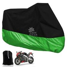 XL Green Universal Motorcycle Cover For Honda Suzuki Yamaha Kawasaki Ducati