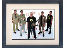 Midnight Oil. Celebrity framed print and clock.