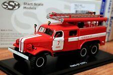 1:43 ZIL-157K PMZ-27 (157K) Tomsk Fire station №7 SSM1113