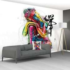 PATRICE MURCIANO NON WOVEN PASTE THE WALL XXL WALL MURAL 3.66 X 2.53M - BUDDA